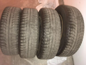 Selling used winters 215/65/17 Michelin's tires