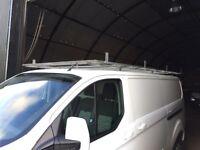 Ford transit custom lwb full galvanised roof rack