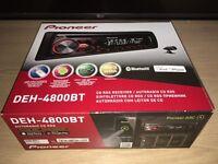 Pioneer Bluetooth & CD Car stereo