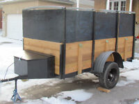 completely rebuild 4x8 'transformer' utility trailer - NEW PRICE