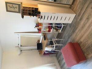Bright room facing quite alley, second floorRecently renovated