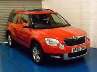 Skoda Yeti 2.0TDI CR ( 110ps ) 4x4 SE 2010 Only 67308 Miles!