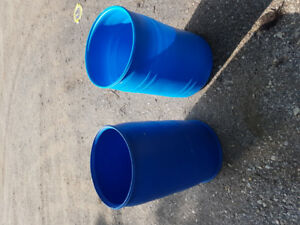 Two Large Storage Cylinders