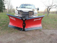 fisher poly caster salter  , spreader, boss, equifab dump, plow