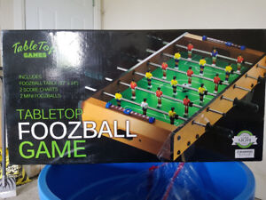 Brand new never opened Table top Foosball game