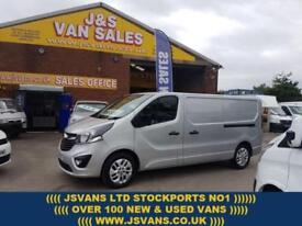 2015 15 VAUXHALL VIVARO SPORTIVE LONG WHEEL BASE 2015/15 REG 1 OWNER 63000 MLS