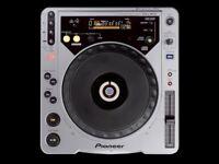 Pioneer CDJ800 MK1 pair
