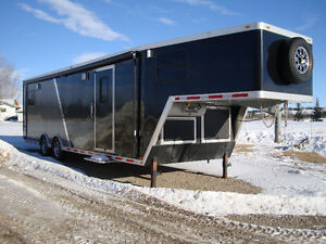 Sled Trailer, Intech 36 ft custom built toy hauler.