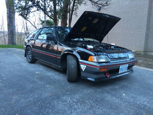 Rust FREE Honda CRX Si - Awesome car