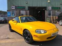 Mazda MX-5 1.6i California Ltd Edn 2001 Y plate only 57000 miles