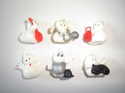 HALLOWEEN GHOSTS SPOOKIES 2 MINI FIGURINES SET - FIGURES COLLECTIBLES MINIATURES - Halloween Spookies