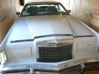 RARE FIND-1977 LINCOLN MARK V STORED FOR 15 YEARS
