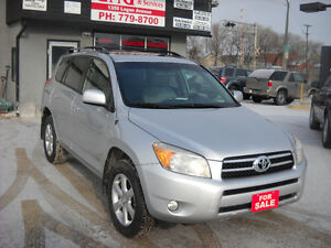 2008 TOYOTA RAV4 LIMITED REDUCED PRICE $ 8995