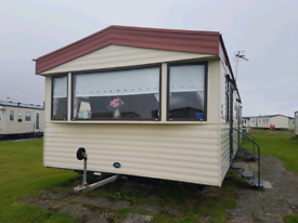 8 berth caravan for sale at Sandylands