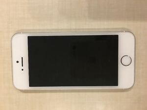 16 GB iPhone SE (White and Silver)
