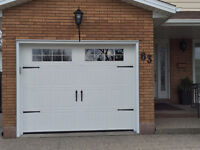 CARRIAGE STYLE GARAGE DOORS + WINDOWS $700 Installed NO TAX DEAL
