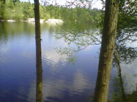Estate Waterfront Lots with Four Season Access and Recreation