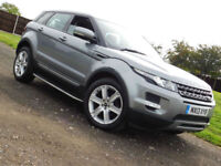 2013 Land Rover Range Rover Evoque 2.2SD4 Pure TECH 4x4 SUV**FSH**NAV**LEATHER