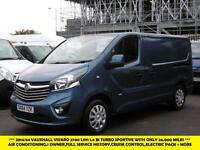 2014 VAUXHALL VIVARO 2700 L1H1 CDTI SPORTIVE BI TURBO WITH ONLY 26.000 MILES,AIR