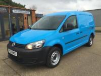 2013 (13) VOLKSWAGEN VW CADDY MAXI 1.6 TDI LWB EX BRITISH GAS BLUE AIR CON
