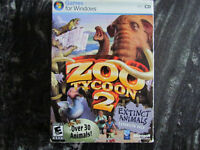 ZOO TYCOON 2 EXTINCT ANIMALS PC GAME