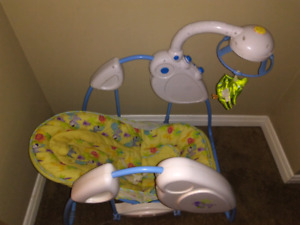 Baby swing works great just needs battery