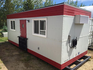10' x 24' BRAND NEW Skidded Office Trailer For Sale