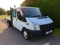 2014 64 FORD TRANSIT T350 TDCI 125PS UTILITY CAB ONESTOP TIPPER DIESEL