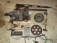 700r 4 transmission, torque converter and extras from 88 IROC