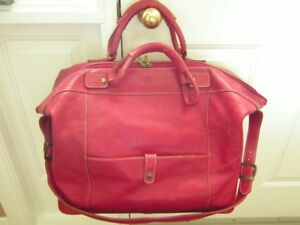 Vintage Valentina in Pell Leather Carry-on Travel Bag