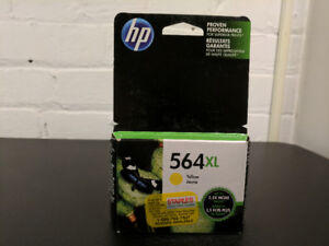HP 564XL Yellow Ink Cartridge Exp. Sep 2018