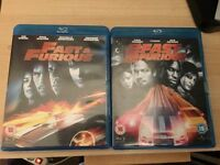 Blu-ray Dvd's fast & furious 2 and 4