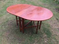 OVAL DROP LEAF DINING TABLE PROJECT