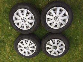 3 x Pirelli, 1 x Bridgestone Tyres For Sale. Size 195/65/R15
