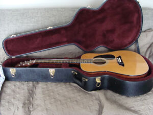 VINTAGE GUITAR  PROFILE  AND HARD SHELL CASE 100.00