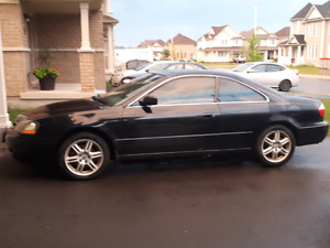 2003 Acura 3.2 cl used as is.