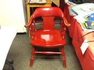 RED OAK CHAIRS