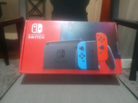 Nintendo Switch Console - with improved battery(NEW) + Games.