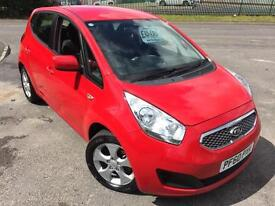 KIA VENGA 1.4 2 £28 WEEK 27K FSH CD/MP3/USB A/C FAMILY CAR 5 DR HATCH 2010