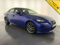 2015 LEXUS IS 300H F SPORT AUTOMATIC HYBRID 1 OWNER SERVICE HISTORY FINANCE PX