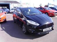 Ford Fiesta 1.6 182ps EcoBoost ST 2 in Panther Black + A/C - Onsite