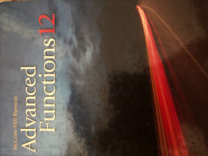 Advanced Functions 12 | Great Deals on Books, Used Textbooks