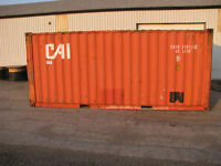 Used Shipping Container - 8'x8'x20'