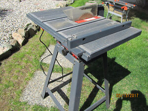 """Craftsman 8"""" Table Saw with stand"""