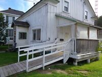 2 BEDROOM GROUND FLOOR APT IN PERTH ONTARIO AT 140 GORE ST. E.