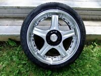 17 inch Wheels with New Khumo tires  VW, Toyota , Honda , Nissan