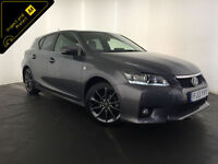 2013 LEXUS CT200H F SPORT AUTO HYBRID 1 OWNER SERVICE HISTORY FINANCE PX WELCOME