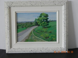 Original painting & Book  code 03 Reduced West Island Greater Montréal image 1