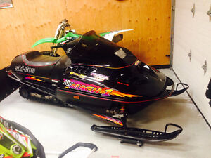 1997 Skidoo Mach 1 (collector sled quality, all original)