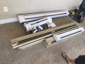 Baseboard heaters and thermostats